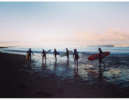 Saunton surfers - one of my personal favourite posts