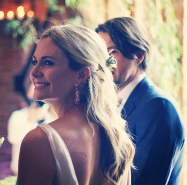 Love a good wedding pic!